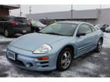 2003 Steel Blue Pearl Mitsubishi Eclipse GS Coupe #59797599