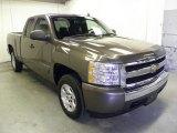 2008 Graystone Metallic Chevrolet Silverado 1500 LT Extended Cab #59797594