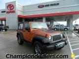 2010 Mango Tango Pearl Jeep Wrangler Sport Mountain Edition 4x4 #59797236