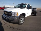 2012 Chevrolet Silverado 3500HD WT Regular Cab Chassis Data, Info and Specs
