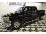 2012 Black Chevrolet Silverado 1500 LT Crew Cab 4x4 #59797882
