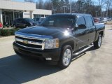 2010 Black Granite Metallic Chevrolet Silverado 1500 LTZ Crew Cab #59797557