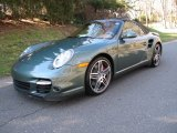 2008 Malachite Green Metallic Porsche 911 Turbo Cabriolet #59797177