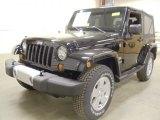 2012 Black Jeep Wrangler Sahara 4x4 #59797868