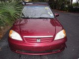 2002 Radiant Ruby Red Pearl Honda Civic EX Sedan #59797117