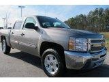 2012 Graystone Metallic Chevrolet Silverado 1500 LT Crew Cab #59797469