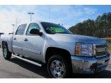 2012 Silver Ice Metallic Chevrolet Silverado 1500 LT Crew Cab #59797467