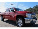 2012 Victory Red Chevrolet Silverado 1500 LT Crew Cab 4x4 #59797466