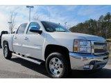 2012 White Diamond Tricoat Chevrolet Silverado 1500 LT Crew Cab 4x4 #59797465