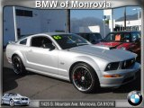 2005 Satin Silver Metallic Ford Mustang GT Premium Coupe #59797452