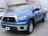 2007 Blue Streak Metallic Toyota Tundra SR5 CrewMax 4x4 #5972227