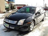2008 Dark Blue Ink Metallic Ford Fusion SE #59797785