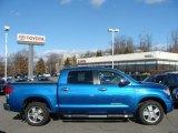 2008 Blue Streak Metallic Toyota Tundra Limited CrewMax 4x4 #59797425