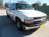 2000 Summit White Chevrolet Silverado 1500 LS Extended Cab #59797420