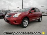 2012 Cayenne Red Nissan Rogue SV #59797038