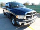 2005 Patriot Blue Pearl Dodge Ram 1500 ST Quad Cab #59797412