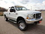 2004 Oxford White Ford F250 Super Duty XLT SuperCab 4x4 #59797029