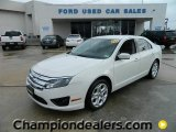 2010 White Suede Ford Fusion SE V6 #59797023
