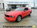 2005 Torch Red Ford Mustang V6 Premium Coupe #59797020