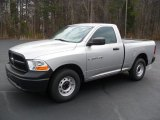 2012 Bright Silver Metallic Dodge Ram 1500 ST Regular Cab #59797704