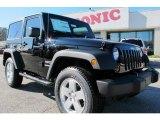 2012 Black Jeep Wrangler Sport S 4x4 #59797365