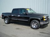 2006 Black Chevrolet Silverado 1500 LT Crew Cab 4x4 #5963439