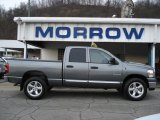 2008 Mineral Gray Metallic Dodge Ram 1500 Big Horn Edition Quad Cab 4x4 #59859775