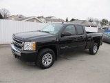 2010 Black Chevrolet Silverado 1500 LS Extended Cab 4x4 #59861004