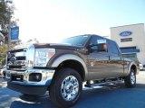 2012 Golden Bronze Metallic Ford F250 Super Duty Lariat Crew Cab 4x4 #59859739