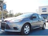 2012 Sterling Grey Metallic Ford Focus S Sedan #59859738