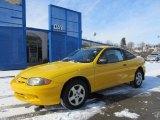 2003 Yellow Chevrolet Cavalier LS Coupe #59859722