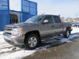2008 Graystone Metallic Chevrolet Silverado 1500 LT Crew Cab 4x4 #59859721
