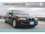 2000 Jet Black BMW 3 Series 323i Sedan #59860941