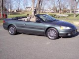 2002 Onyx Green Pearl Chrysler Sebring LX Convertible #5972247