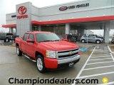 2008 Victory Red Chevrolet Silverado 1500 LT Crew Cab #59859700