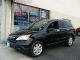 2008 Nighthawk Black Pearl Honda CR-V EX 4WD #59860928