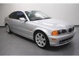 2001 Titanium Silver Metallic BMW 3 Series 325i Coupe #59860323