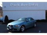 2009 Atlantic Blue Metallic BMW 3 Series 328i Convertible #59859628