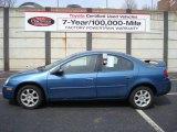 2003 Atlantic Blue Pearl Dodge Neon SXT #5974794