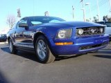 2005 Sonic Blue Metallic Ford Mustang V6 Deluxe Coupe #59860852