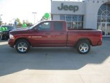 2012 Deep Cherry Red Crystal Pearl Dodge Ram 1500 Express Quad Cab #59860274