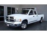 2005 Bright White Dodge Ram 1500 SLT Quad Cab #5958324