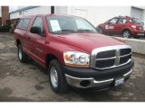 2006 Inferno Red Crystal Pearl Dodge Ram 1500 SLT Regular Cab #59860824