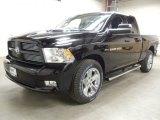2012 Black Dodge Ram 1500 Sport Quad Cab 4x4 #59860817
