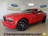 2007 Torch Red Ford Mustang V6 Premium Coupe #59859583