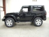 2012 Jeep Wrangler Black Forest Green Pearl