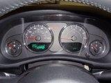 2012 Jeep Wrangler Sahara 4x4 Gauges