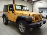 2012 Jeep Wrangler Dozer Yellow