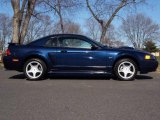 2002 True Blue Metallic Ford Mustang GT Coupe #5972248