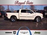 2010 Stone White Dodge Ram 1500 Big Horn Crew Cab 4x4 #59859530
